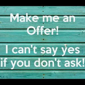 I will accept or counter all offers
